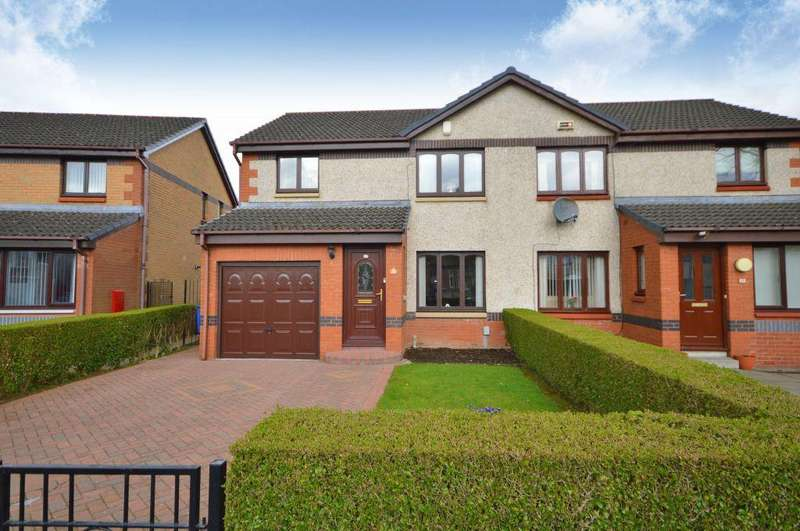 3 Bedrooms Villa House for sale in 32 Everard Drive, Colston, Glasgow, G21 1XG