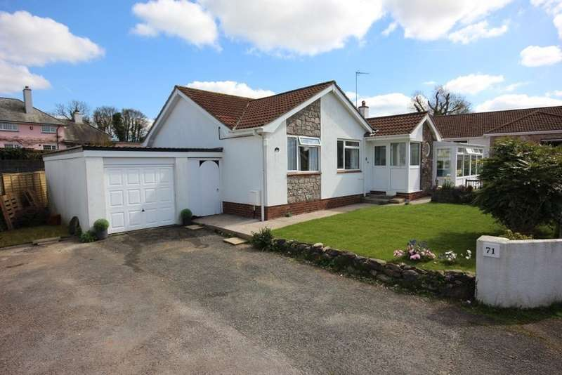 3 Bedrooms Detached Bungalow for sale in Luscombe Close, Ipplepen