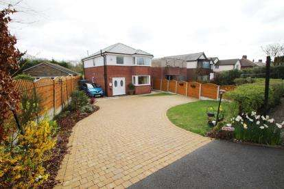 3 Bedrooms Detached House for sale in Links Lane, Pleasington, Blackburn, Lancashire, BB2