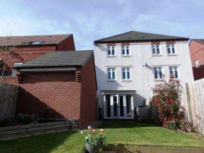 3 Bedrooms Semi Detached House for sale in Edale Close, Washington, Tyne and Wear, NE38