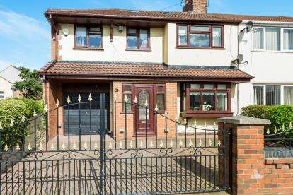 4 Bedrooms Semi Detached House for sale in Nicholas Road, Widnes, Cheshire, Tbc, WA8