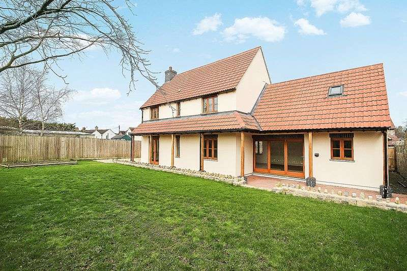 4 Bedrooms Detached House for sale in Shapwick Road, Westhay
