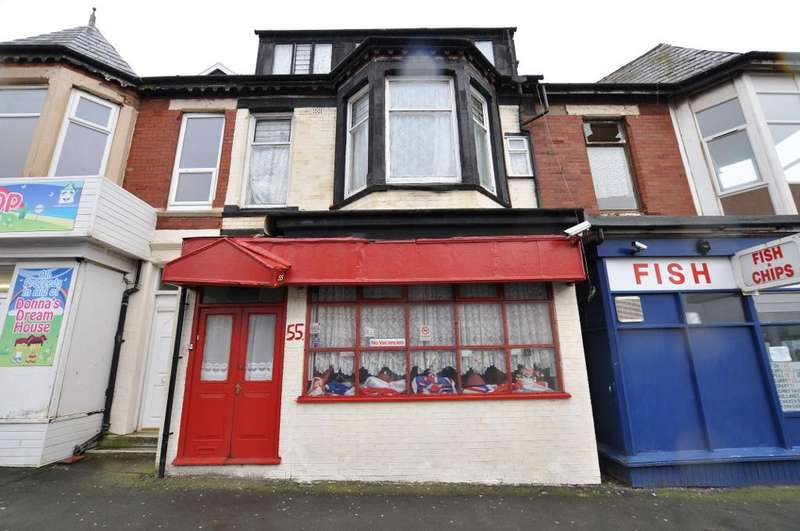 10 Bedrooms Terraced House for sale in Chapel Street, Blackpool, Lancashire, FY1 5HF