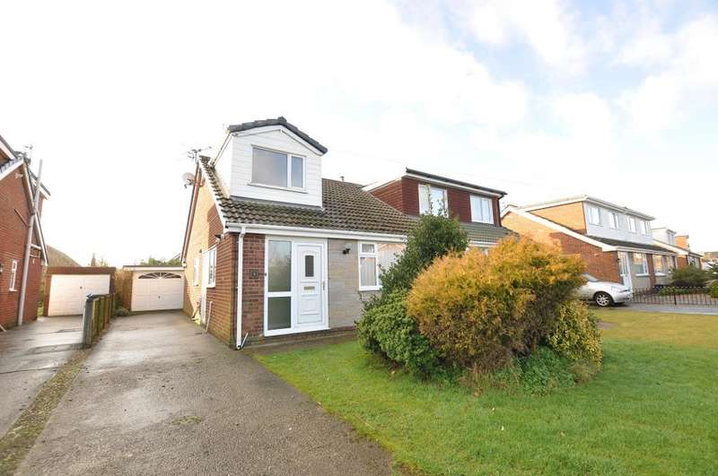 3 Bedrooms Semi Detached House for sale in Wades Croft, Freckleton, Preston, Lancashire, PR4 1SU