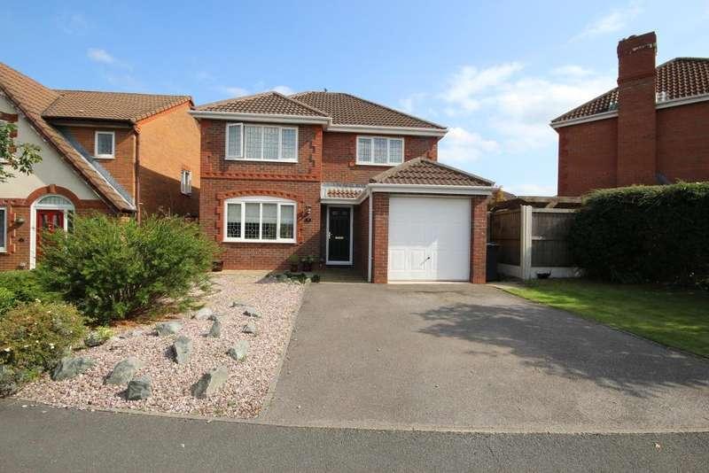 4 Bedrooms Detached House for sale in Foxwood Drive, Kirkham, Preston, Lancashire, PR4 2DS