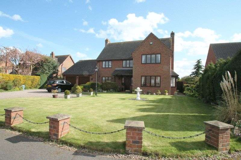 4 Bedrooms Semi Detached House for sale in The Sidings, Moulton