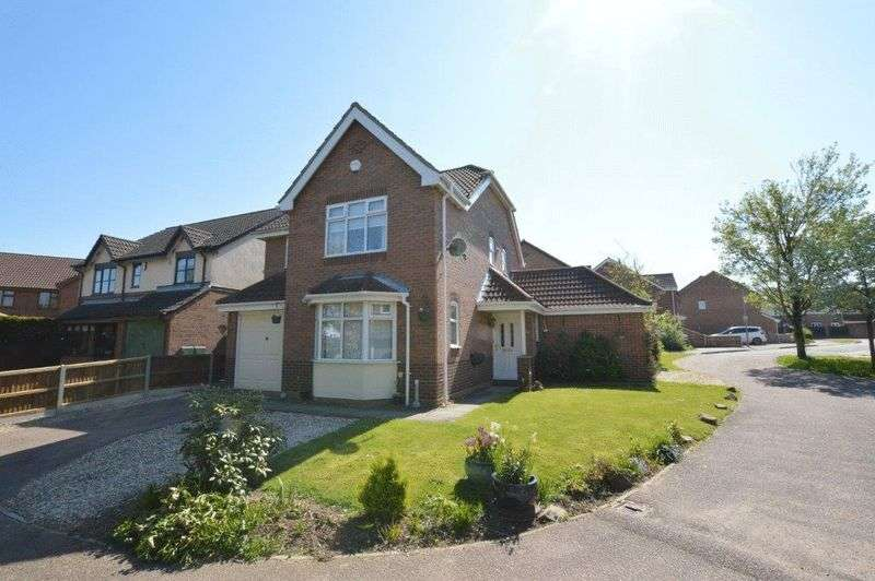 4 Bedrooms Detached House for sale in Primrose Way, Horsford, Norwich