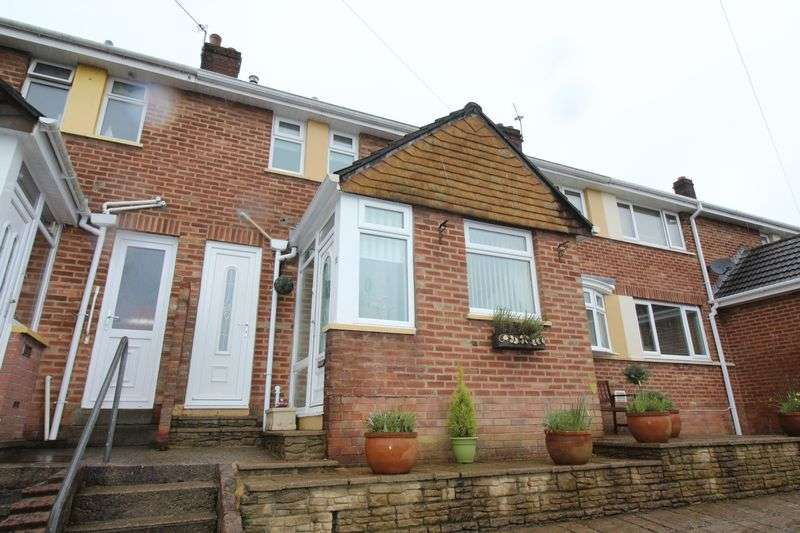 3 Bedrooms Terraced House for sale in Ashgrove Close, Pontypool