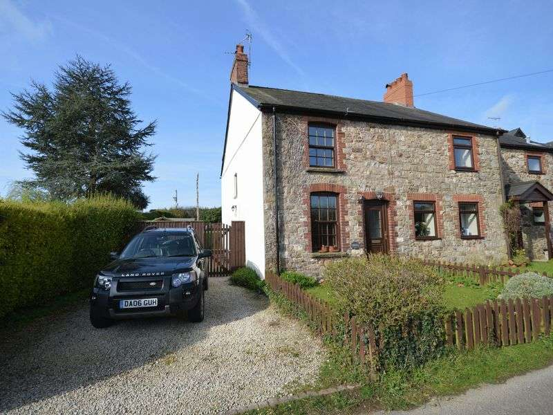 2 Bedrooms Semi Detached House for sale in Ty Newydd, Mamhilad