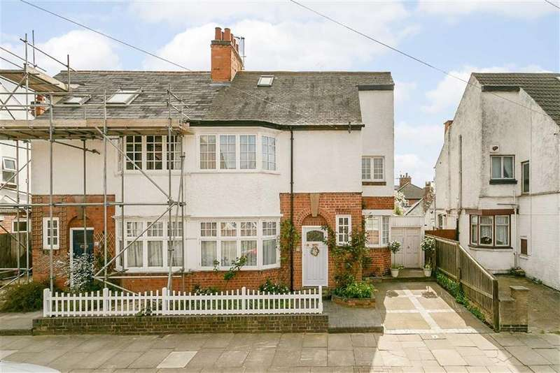 4 Bedrooms Semi Detached House for sale in Greenhill Road, Clarendon Park, Leicester