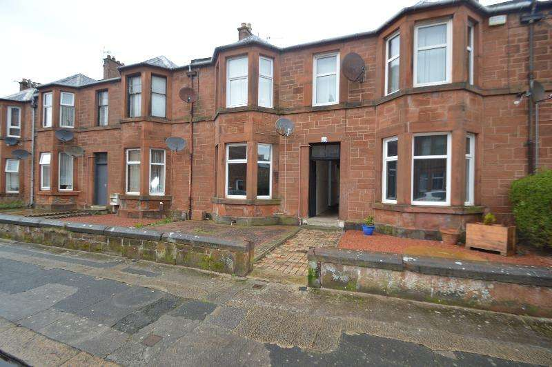 1 Bedroom Flat for sale in Gillies Street, Troon, South Ayrshire, KA10 6QH