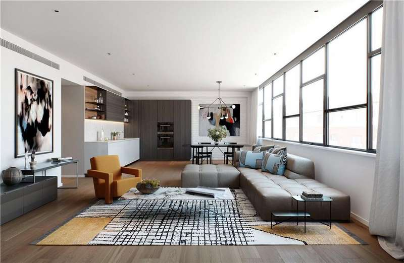 3 Bedrooms Flat for sale in 5-9 Long Street, London, E2