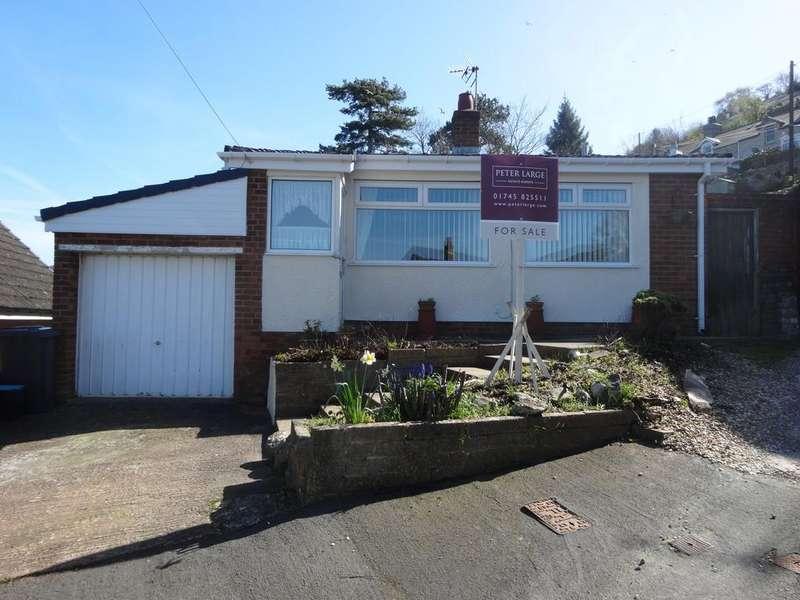 3 Bedrooms Detached Bungalow for sale in Ffordd Y Graig, Llanddulas