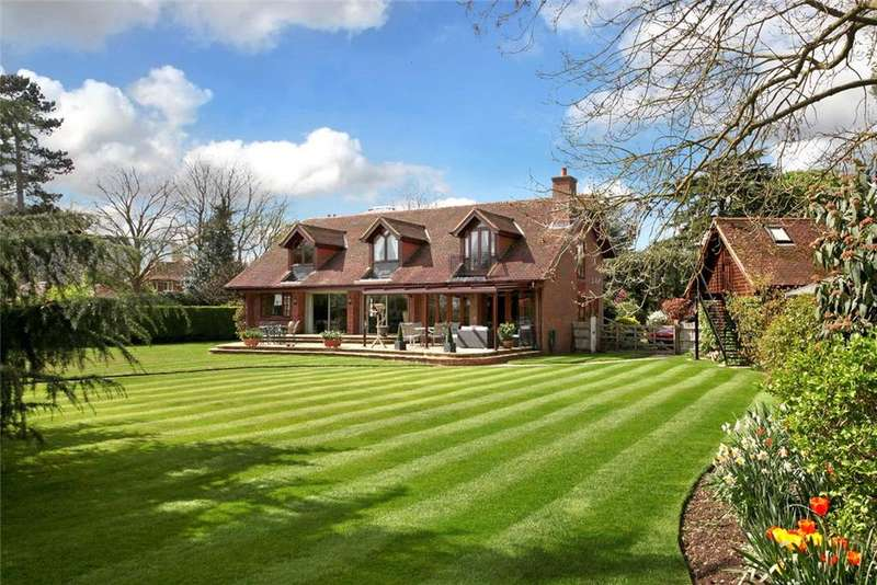 4 Bedrooms Detached House for sale in River Road, Taplow, Maidenhead, Buckinghamshire, SL6