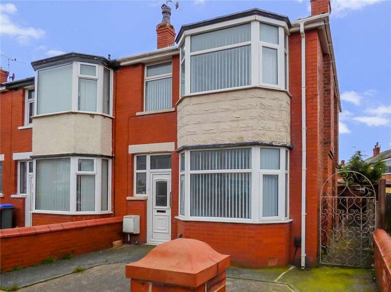 3 Bedrooms Semi Detached House for sale in Lulworth Avenue, Blackpool, Lancashire