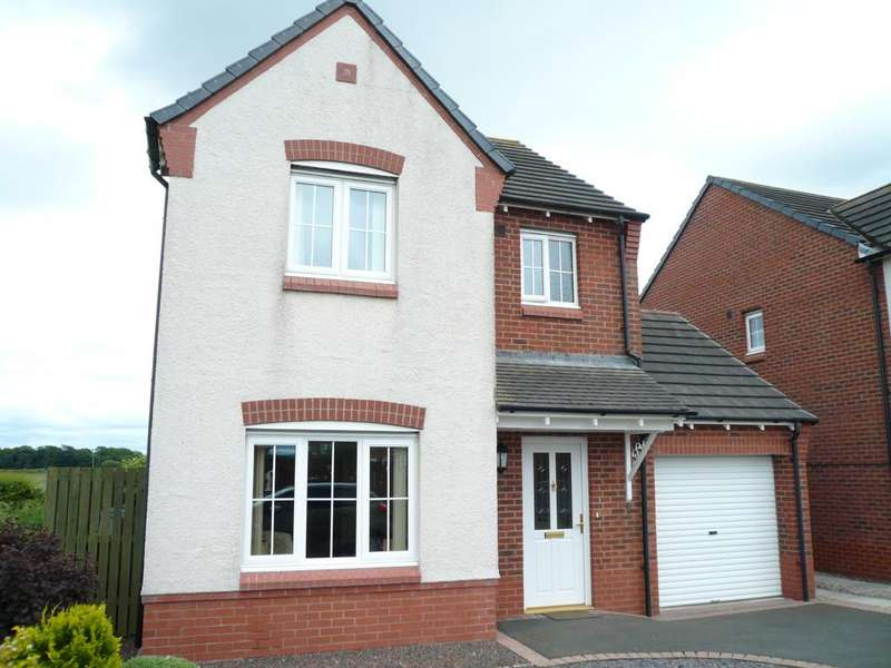 3 Bedrooms Detached House for sale in Greenrow Meadows, Silloth