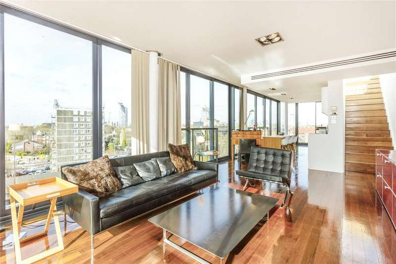 2 Bedrooms Penthouse Flat for sale in The Jam Factory, 27 Green Walk, London, SE1