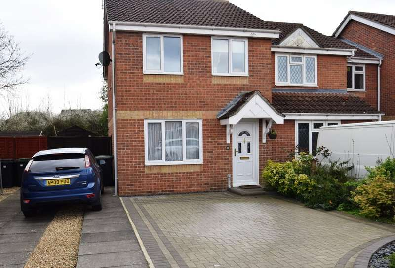 3 Bedrooms Semi Detached House for sale in Pyes Meadow, Elmswell