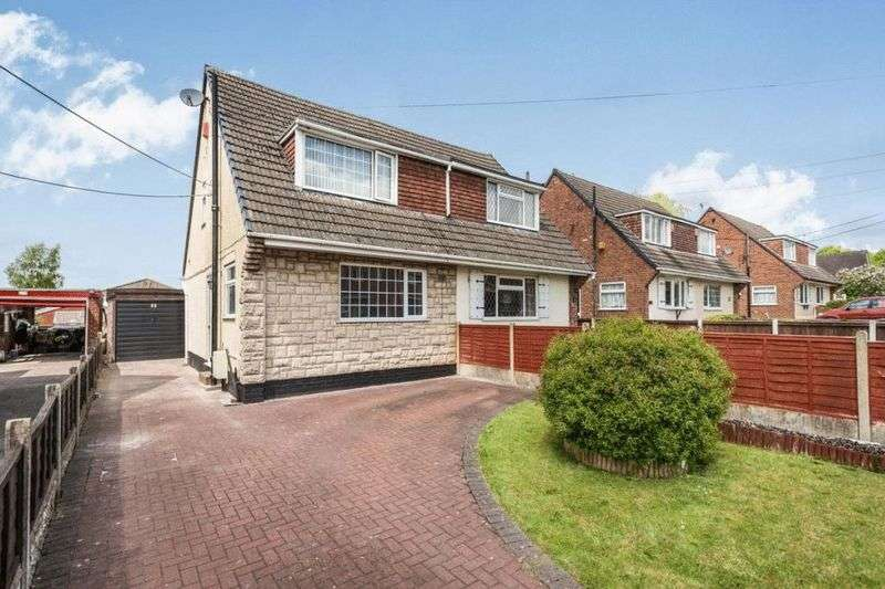 3 Bedrooms Semi Detached House for sale in Goms Mill Road, Longton, Stoke-On-Trent, ST3 2RF