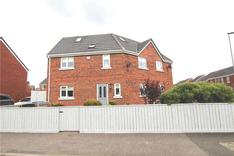 5 Bedrooms Semi Detached House for sale in Prince Charles Avenue, Bowburn, DH6