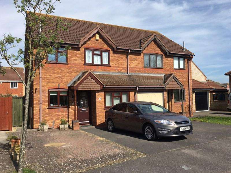 3 Bedrooms Semi Detached House for sale in Barrie Way, Burnham-On-Sea