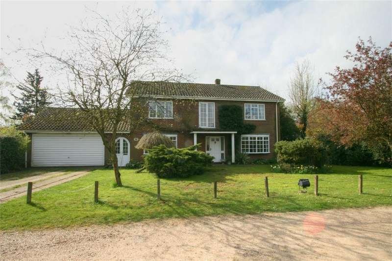 4 Bedrooms Detached House for sale in Off Church Road, NR16 2JP, Wilby, Norfolk