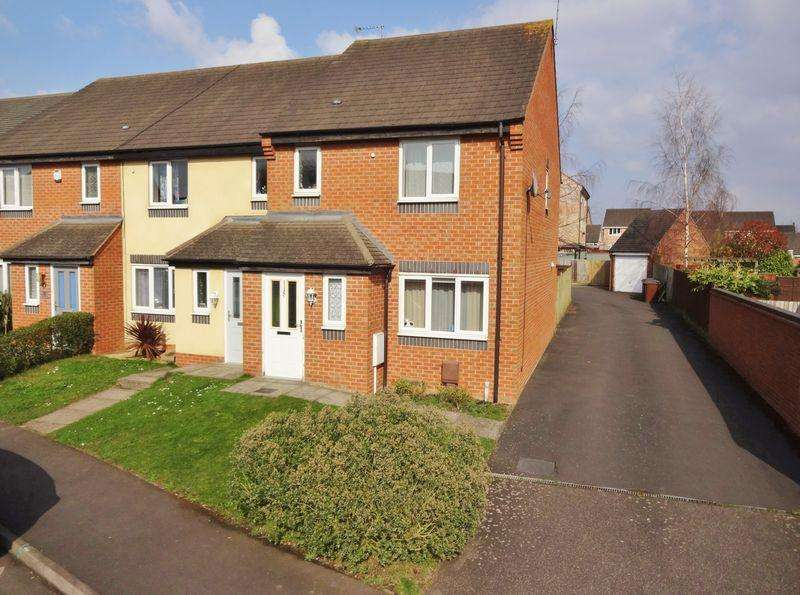 3 Bedrooms End Of Terrace House for sale in Boughton Road, Oakley Vale, Corby