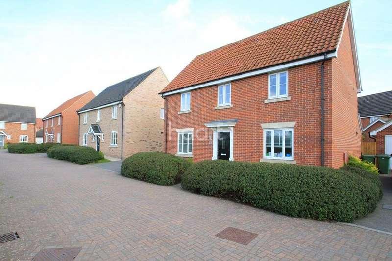 4 Bedrooms Detached House for sale in Raven Croft, Cringleford, NR4