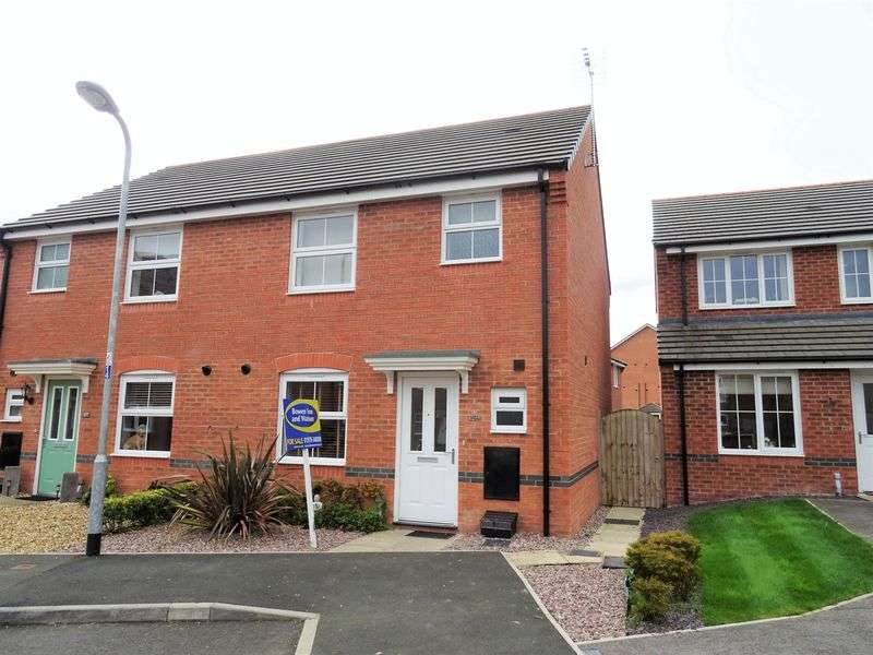 3 Bedrooms Semi Detached House for sale in Lamberton Drive, Wrexham