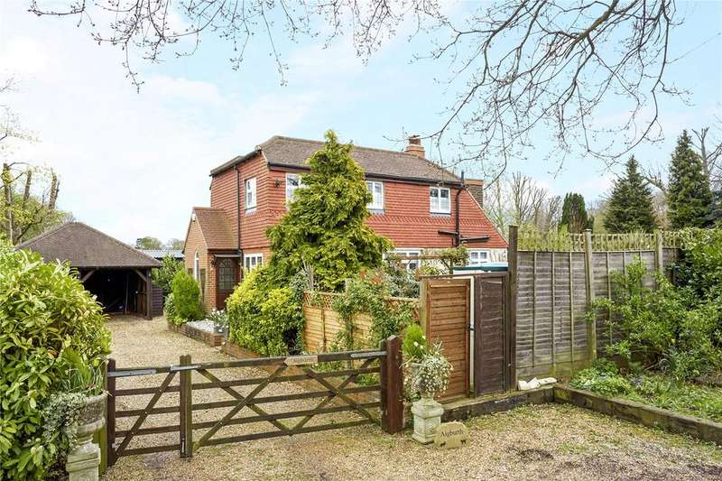 3 Bedrooms Detached House for sale in Farley Green, Albury, Guildford, Surrey, GU5