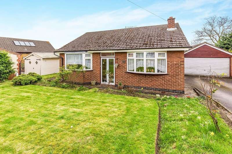 2 Bedrooms Detached Bungalow for sale in Moira Road, Overseal, Swadlincote, DE12