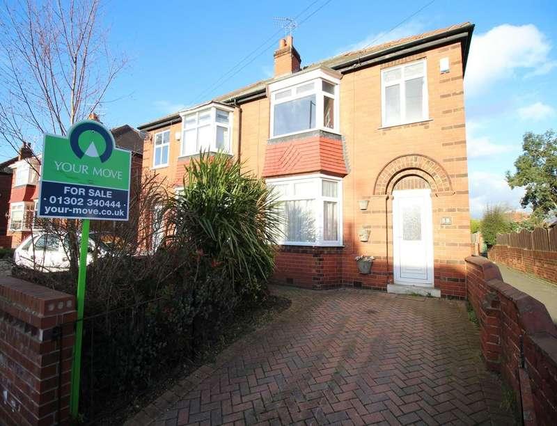 3 Bedrooms Semi Detached House for sale in Zetland Road, Town Moor, Doncaster, DN2