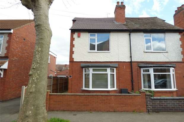 2 Bedrooms Semi Detached House for sale in Marlborough Road, Nuneaton, Warwickshire