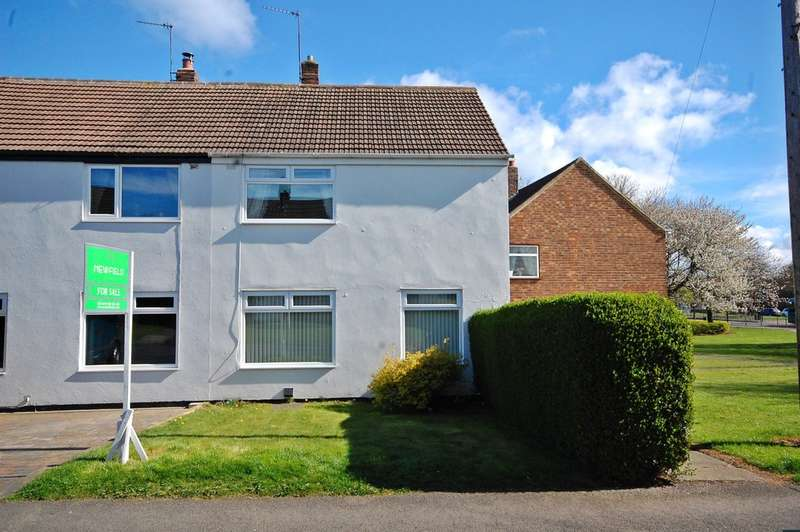 2 Bedrooms Semi Detached House for sale in Aykley Road, Framwellgate Moor, Durham