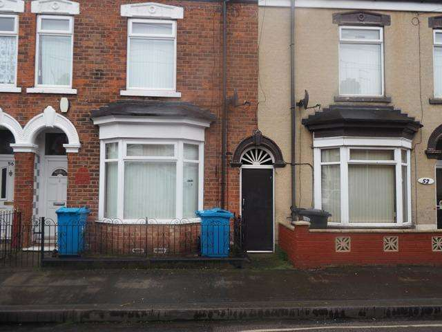 2 Bedrooms Terraced House for sale in Severn Street, Hull, HU8 8TG