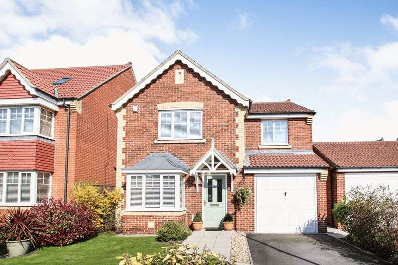 4 Bedrooms Detached House for sale in Dawlish Close, Redcar