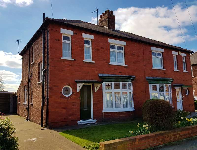 3 Bedrooms Semi Detached House for sale in Arlington Road, Linthorpe, Middlesbrough, TS5 7RD