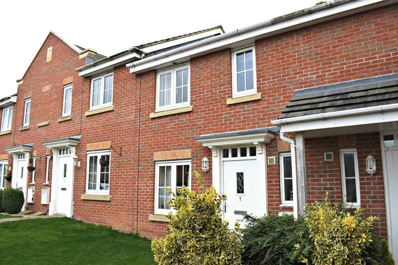 3 Bedrooms Terraced House for sale in Wentworth Close, Gainsborough
