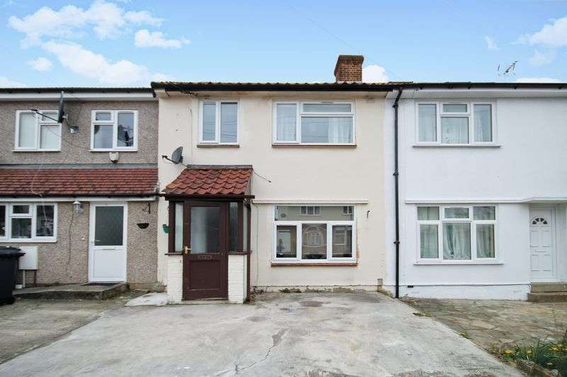 3 Bedrooms Terraced House for sale in Allenby Close, Greenford