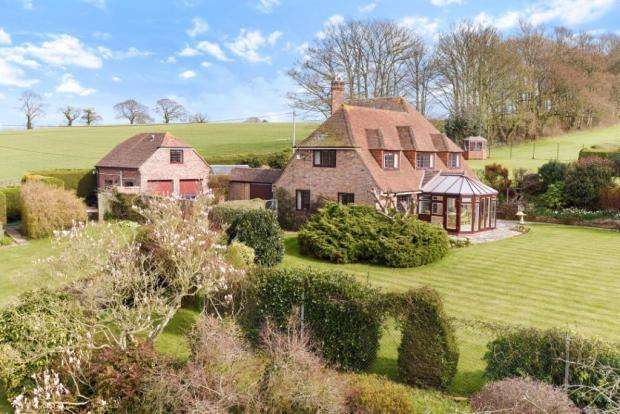 5 Bedrooms Detached House for sale in Adber, Near Trent, Sherborne