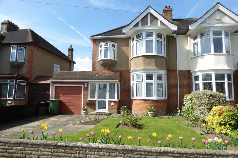3 Bedrooms Semi Detached House for sale in Maple Avenue, Upminster RM14