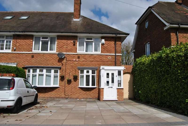 4 Bedrooms Semi Detached House for sale in Meadway , Yardley