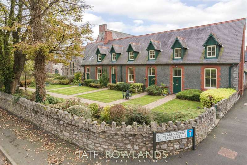 2 Bedrooms Terraced House for sale in Monastery Road, St Clares Court, Pantasaph