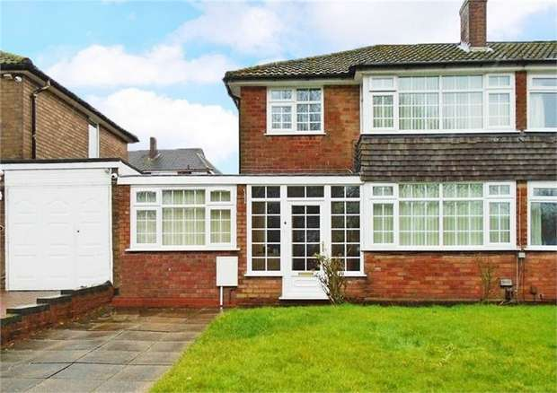 3 Bedrooms Semi Detached House for sale in Ettingshall Park Farm Lane, Wolverhampton, West Midlands