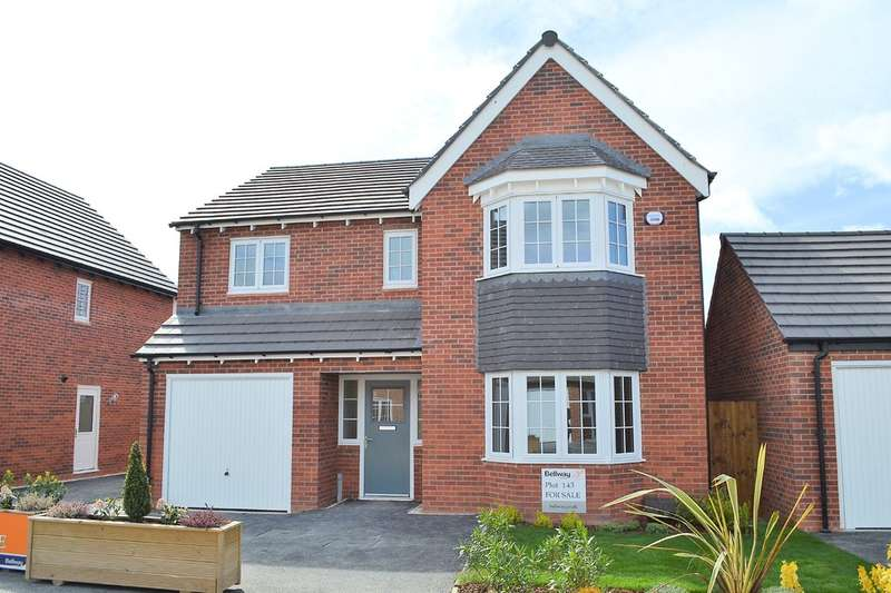 4 Bedrooms Detached House for sale in Causer Road, Barton under Needwood