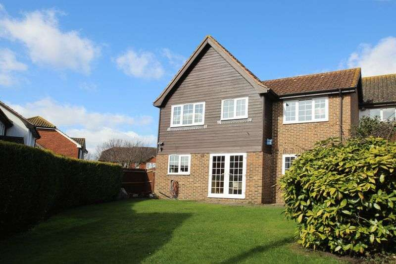 4 Bedrooms Semi Detached House for sale in Dukes Meadow, Nr Tonbridge