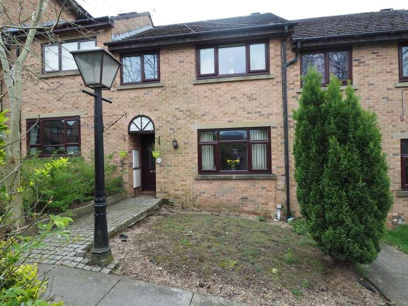 3 Bedrooms Terraced House for sale in Jubilee Gardens, New Mills, High Peak, Derbyshire, SK22 4PL