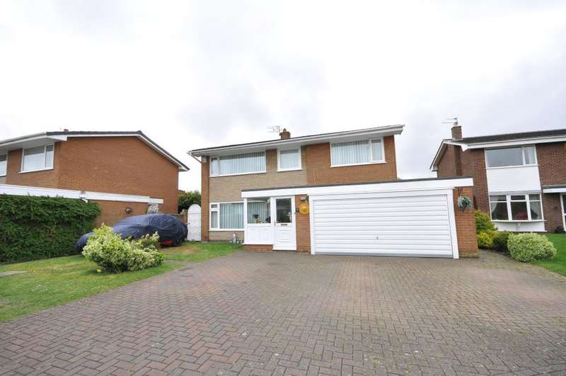 4 Bedrooms Detached House for sale in Silverdale Road, St Annes, Lytham St Annes, Lancashire, FY8 3RE