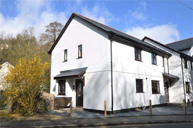 2 Bedrooms End Of Terrace House for sale in Castle Road, Okehampton, Devon