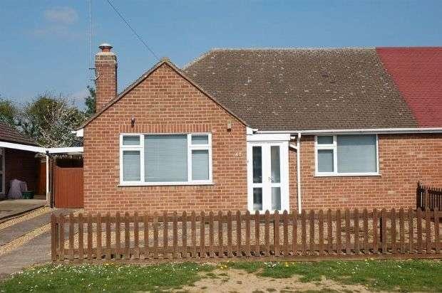 2 Bedrooms Semi Detached Bungalow for sale in Fuller Road, Moulton Village, Northampton NN3 7QZ